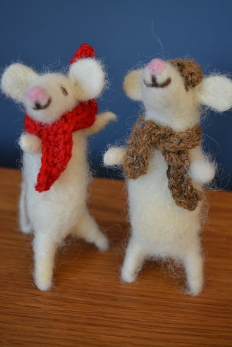 Needlefelted Mice £12
