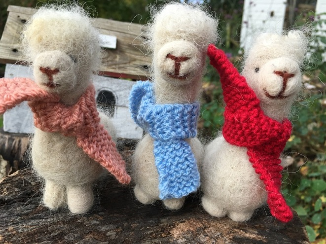 Alpaca made from alpaca fleece £15