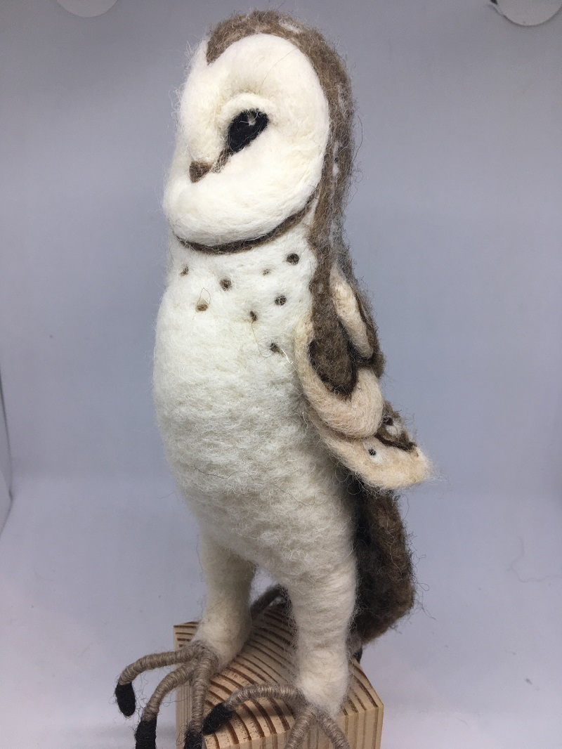 Standing owl 1 2020