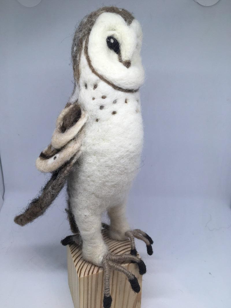Standing owl 2020